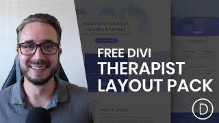 Get a FREE Therapist Layout Pack for Divi