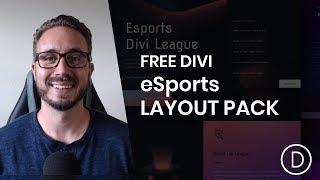 Get a FREE eSports Layout Pack for Divi