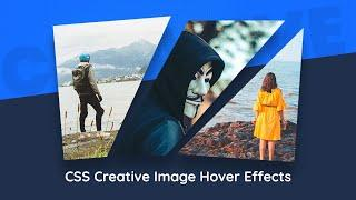 CSS Creative Image Hover Effects   Using CSS Clip Path to Create Awesome Effects