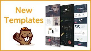 WP Beaver Builder New Page Templates Review 2016 - Best WordPress Page Builder