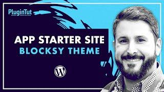 Blocksy Theme 'App' starter site + MotoPress Getwid plugin