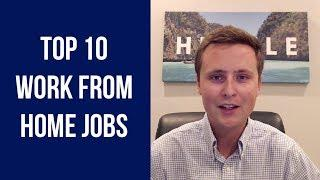 Top 10 Freelance Work From Home Jobs