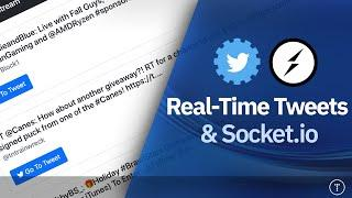 Real-Time Tweets & Socket.io Project | Twitter Streaming API