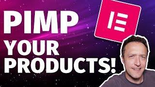 How to EDIT WOOCOMMERCE PRODUCT Pages with Elementor Pro - Pimp up your products!
