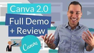 Canva 2.0 Features Review - New GIFs, Graphics, & More! (Canva Tutorial) + [Scheduling Beta]