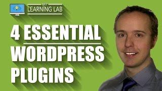 4 Best WordPress Plugins With Tutorial WalkThrough - Essential WordPress Plugins | WP Learning Lab