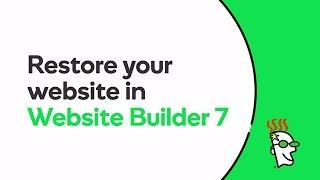 How to Restore a Website from Backup Files | GoDaddy