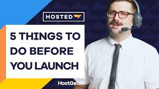 STOP - Read this Website Checklist Before You Launch