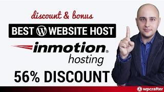 InMotion Hosting 56% Coupon Discount And Bonus For My Viewers Best WordPress Web Hosting