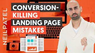 7 Landing Page Flaws That'll Kill Your Conversions   Landing Page Creation Tips