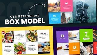 CSS Responsive Web Design Grid | Advanced CSS3 Box Model