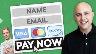 How to Create An Online Order Payment Form In WordPress - Take Credit Cards & PayPal Payments