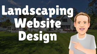 Landscaping Website : How to Make a Landscaper Website [Beginner Friendly]