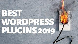 BEST WORDPRESS PLUGINS 2019 - ESSENTIAL PLUGINS FOR YOUR WEBSITE