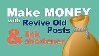 How To Monetize Your WordPress Website With URL Shortener