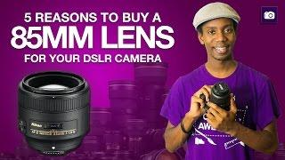 5 Reasons to Buy a 85mm Prime Lens | Best Lenses for Portraits
