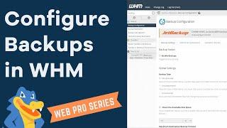 How to set up and run backups in WHM - HostGator Tutorial