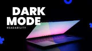 DARK MODE READABILITY TIPS - How to make DARK MODE UI Trend More Accessible?   TemplateMonster