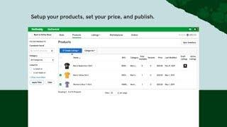 GoDaddy Online Store Feature: Marketplaces
