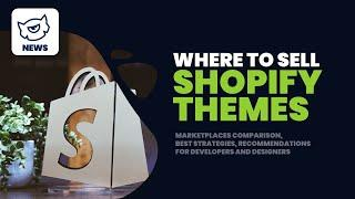 SHOPIFY Themes - Where to Sell? // Marketplaces Comparison #Livestream #TemplateMonster