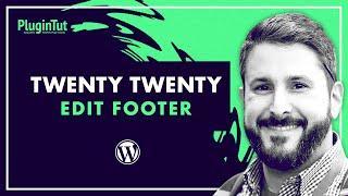 """Remove """"Powered by WordPress"""" footer Twenty Twenty theme"""