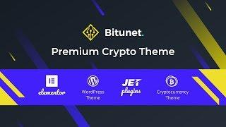 Bitunet - Premuim Cryptocurrency Ready-to-Go Website Offer