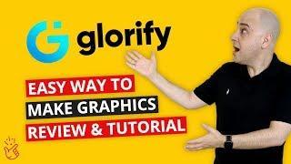 GlorifyApp Review & Tutorial - The Best Graphics App For Web, Social, Ecom, Banners, Logos, Ebooks?