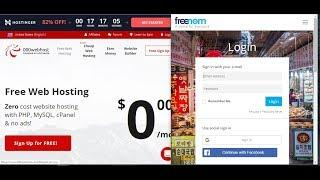 Free Webhosting With Free Domain    Connect Freenom Domain To 000webhost Com
