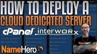 How To Deploy A Cloud Dedicated Server With Free InterWorx - Host Unlimited Accounts