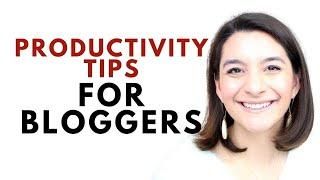 9 Productivity Tips for New Bloggers to Use in 2021