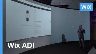 Wix ADI | Artificial Design Intelligence Creates a Stunning Website | Live Demo