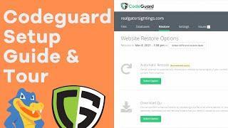 Codeguard Setup and Tour - HostGator Tutorial