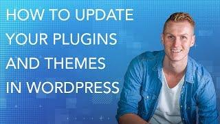 How To Update Wordpress, Plugins and Themes