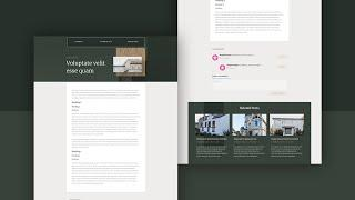 Download a FREE Blog Post Template for Divi's Realtor Layout Pack