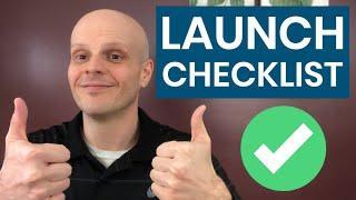 WordPress Website Client Launch Checklist