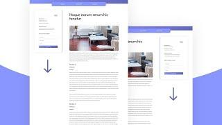 How to Create a Sticky Sidebar for Your Blog Post Template with Divi
