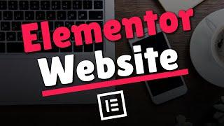 How to Make a WordPress Website | Elementor Tutorial (2020)