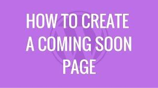 Create a coming soon page in WordPress | Coming Soon plugin by SeedProd