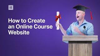 How to Create, Set up & Launch an Online Course Website — Monday Masterclass