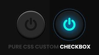 CSS Custom Checkbox Design   Html CSS